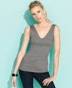 Top, Sleeveless Front-To-Back Tank