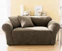 Slipcovers, Stretch Pique Loveseat Cover Bedding