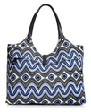 SR Squared by Sondra Roberts Handbag, Printed Canv