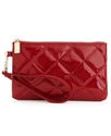 Handbag, Quilted Top Zip Wristlet