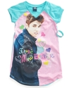 Kids Pajamas, Girls or Little Girls Justin Bieber 