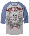 Shirt, 3/4 Raglan Dare Devils T-Shirt
