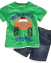 Baby Set, Baby Boys Tee and Shorts