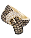 14k Gold Ring, Chocolate Diamond (2-1/6 ct. t.w.)