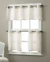 Elrene Window Treatments, Pair of Essex Grommet 30