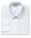 Dress Shirt, Slim-Fit No-Iron White Pinpoint