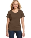 Tee, Short-Sleeve Scoop-Neck