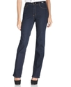 NYDJ, Straight Leg Jeans, Marilyn Blue Black Wash