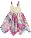 Baby Dress, Baby Girls Hankey Hem Sundress