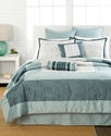 Sereno 8 Piece California King Comforter Set Beddi
