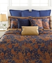 Bedding, Indigo Bali King Bedskirt Bedding