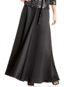 Skirt, Satin A-Line
