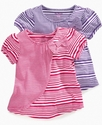 Kids Shirt, Little Girls Striped Top