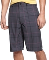 Shorts, Elvis Plaid Men&#39;s Shorts