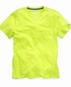 Kids T-Shirt, Boys Slub V-Neck Tee