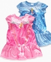 Kids Pajamas, Toddler Girls Disney Princess Nightg