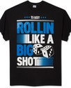 Big &amp; Tall Shirt, Rollin Big Graphic T Shirt