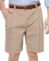 Shorts, Extender Waist Double Pleat Shorts