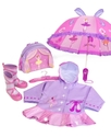Raincoat, Hooded Ballerina Raincoat