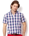 Shirt, Short Sleeve Medium Poplin Shirt