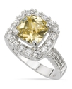 Ring, Jonquil Cubic Zirconia Square (4-1/10 ct. t.