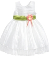 Kids Dress, Little Girls Crinkle Dress