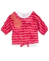 Kids Shirt, Little Girls Popover Top