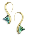 RACHEL Rachel Roy Earrings, Abalone Linear Thorn