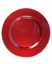 Serveware, Glory Red Glass Charger Plate