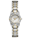 Watch, Women&#39;s Dress Diamond Accent Two Tone Stain