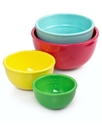 Nested Melamine Prep Bowls, 4 Piece Set