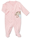 Carter's Baby Sleepwear, Baby Girls Interlock Slee