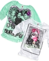 Kids Shirt, Girls Photo-Real Top
