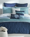 Bedding, Anguilla 7 Piece Twin Comforter Set Beddi