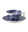 Spode   Blue Italian   Saucer