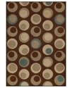 Dalyn Area Rug, Monterey MR111 Chocolate 4'11   x