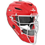 System 7 MVP Catchers Head Gear - Scarlet