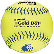 Super Gold Dot Pro Tac Softball - Mens - Yellow