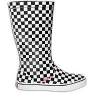 Rainfall Boot - Womens - Black/White