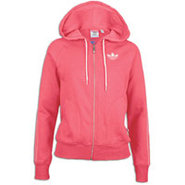 Collegiate Fleece Hoodie Track Top - Womens - Supe