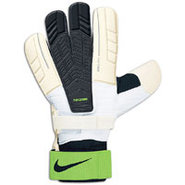 Goalkeeper Confidence Gloves - White/Green/Black