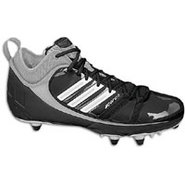 Scorch 9 D Mid - Mens - Black/White/Silver