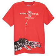 Natural Purveyors S/S T-Shirt - Mens - Red