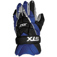 Jolt Lacrosse Gloves - Mens - Royal