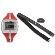 FT7 Fitness Monitor - Womens - Red/Silver
