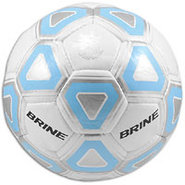 Attack Soccer Ball - White/Carolina