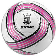King 250 Soccer Ball - White/Purple