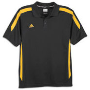 Sideline Polo - Mens - Black/Collegiate Gold