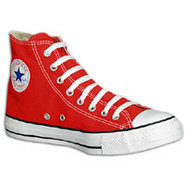 All Star Hi - Mens - Bright Red/White