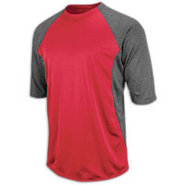 Featherweight Tech Fleece Top - Mens - Pro Scarlet